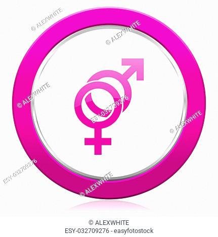 sex violet icon gender sign