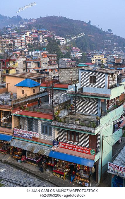 Neighbordhood, Bindhya Basini Temple, Pokhara, Nepal, Asia