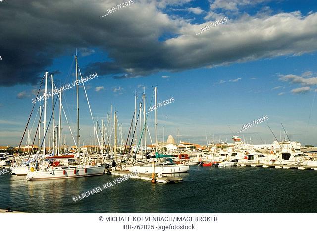Boats, Saintes-Maries-De-La-Mer, Camargue, South of France