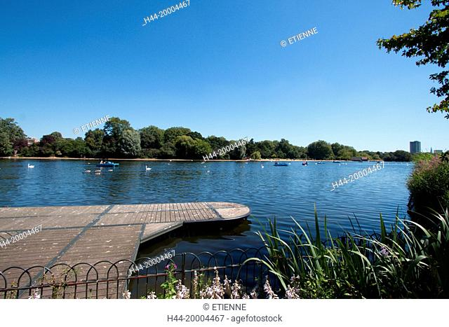 The Serpentine in London