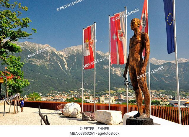 Austria, Tyrol, Innsbruck, townscape, Bergisel
