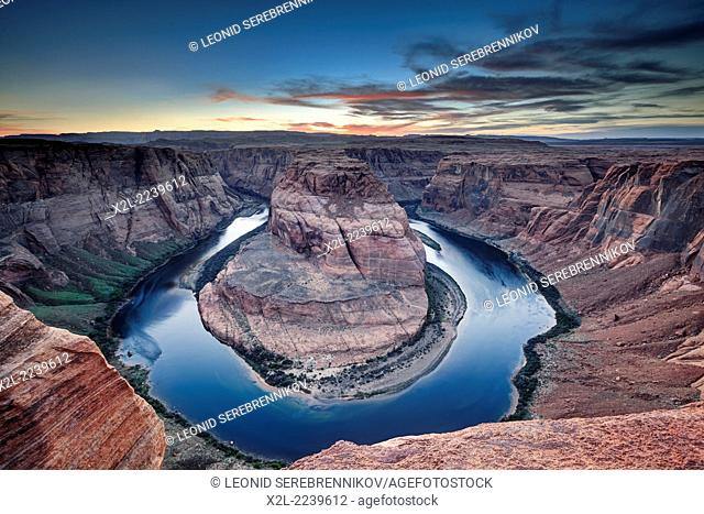 Horseshoe Bend. Page, Arizona, USA