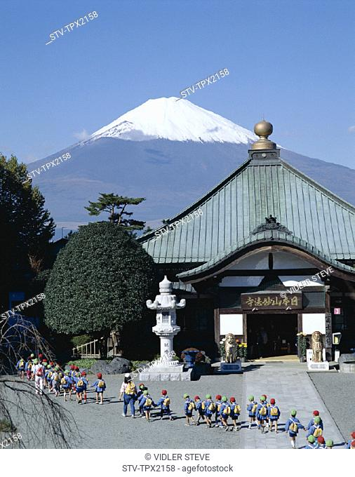 Asia, Children, Holiday, Honshu, Japan, Landmark, Mount fuji, School, Temple, Tourism, Travel, Vacation