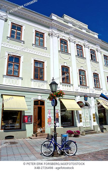 Raekoja plats, town hall square, Tartu, Estonia, Baltic States, Europe