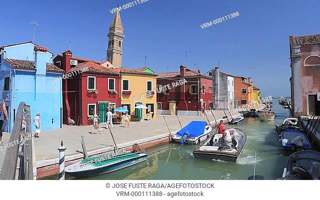 Italy , Near Venice city , Burano City