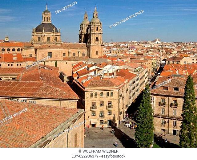 Salamanca - Blick von der Kathedrale