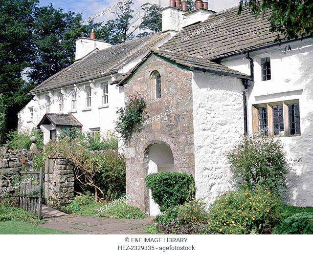 Brigflatts Meeting House, near Sedbergh, Cumbria. A Quaker meeting house built in 1675. It features in the poems Briggflatts (1966) and At Briggflatts...