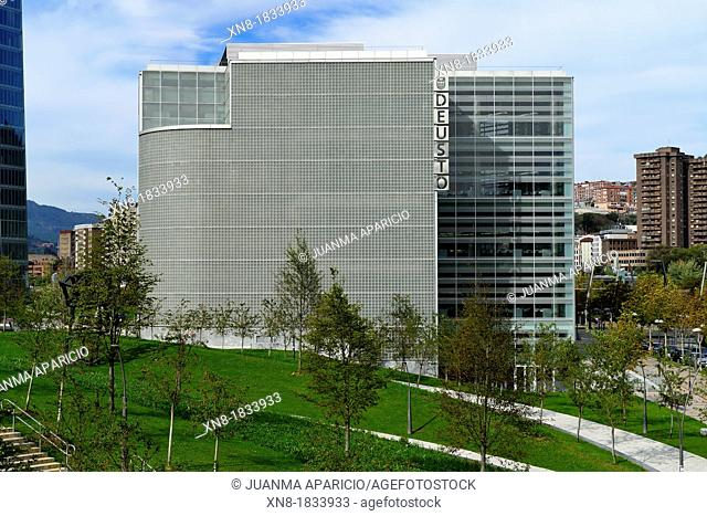 New library at the Deusto University