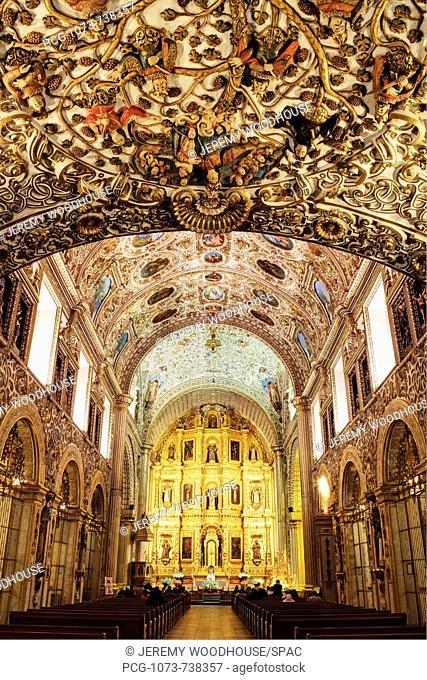 Interior of the Church of Santo Domingo
