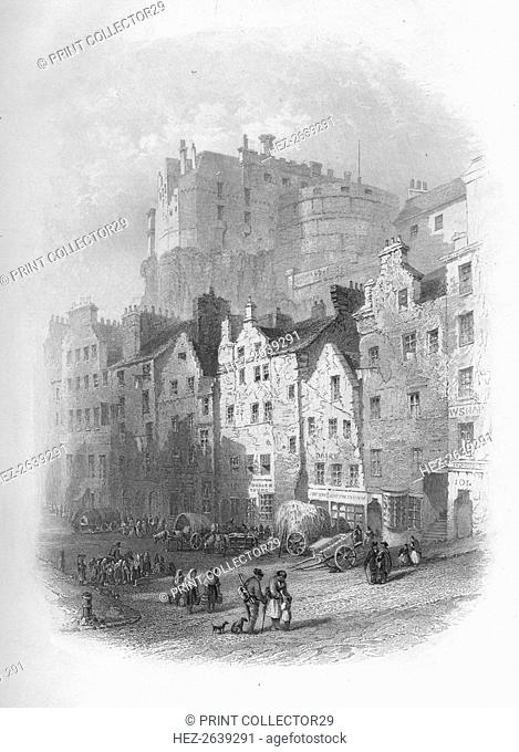 'The Grass Market, Edinburgh', 1859. Artist: Charles Cousen