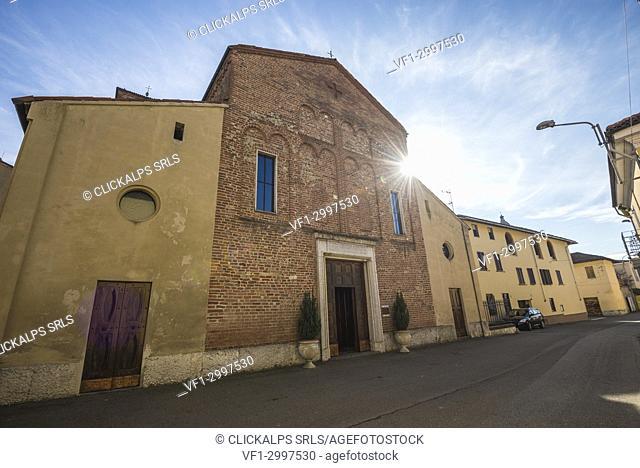 Breme, Province of Pavia, Lombardy, Italy. Santa Maria Assunta's Church