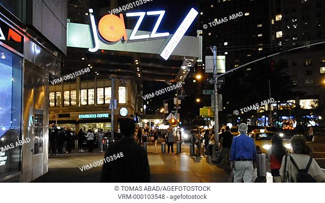 Jazz at Lincoln Center, 59th Street Columbus Circle, Broadway, Manhattan, New York City, Columbus Circle Mid-Town West, USA