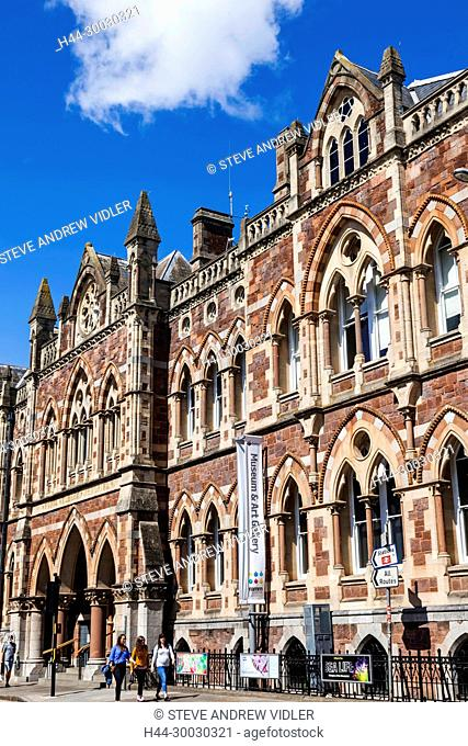 England, Devon, Exeter, Royal Albert Memorial Museum and Art Gallery aka RAMM
