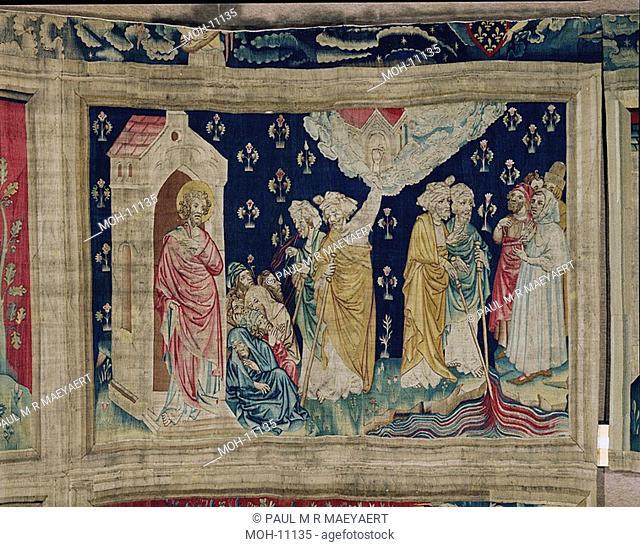 La Tenture de l'Apocalypse d'Angers, Les deux Témoins 1,52 x 2,26m, die zwei Zeugen