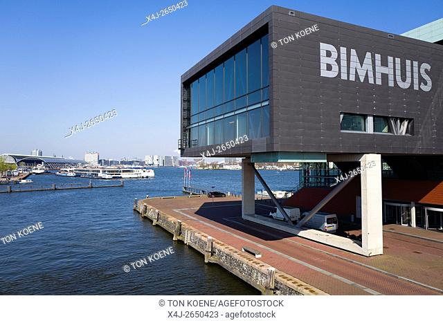 The Bimhuis is a dutch music theatre