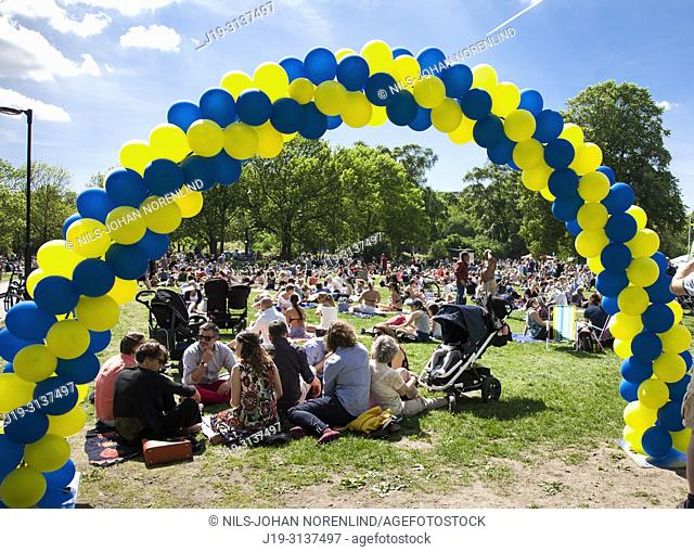National day of Sweden 6th June, Stockholm