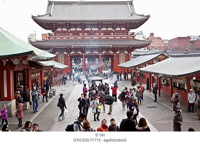 Kaminarimon, Senso-ji, Asakusa district, Tokyo, Japan