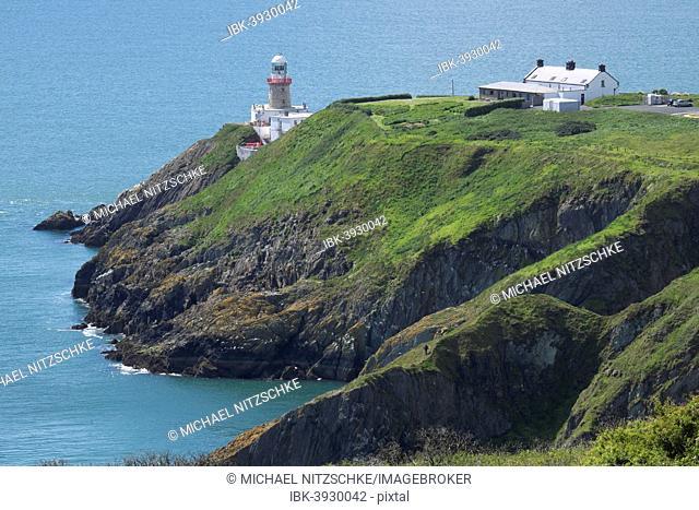 Baily Lighthouse, Howth Peninsula, County Leinster, Ireland