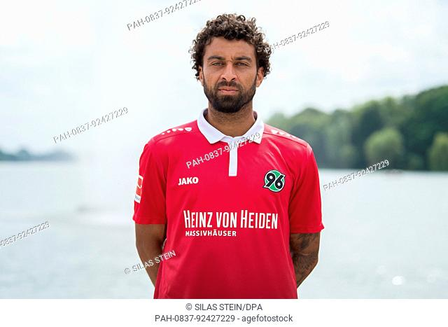German Bundesliga, Photocall Hannover 96 on 14 July 2017 in Hannover, Germany: Fabio Morena. Foto: Silas Stein/dpa | usage worldwide