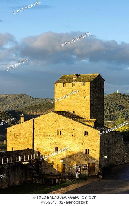 Aínsa Village. Huesca province, Aragón. Spain