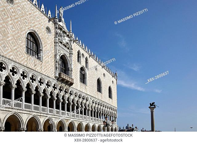 Doge's palace and San Marco square, Venice, Italy