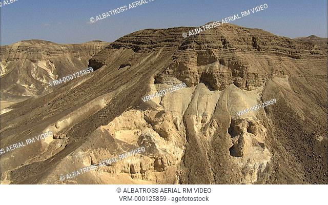 Aerial footage of the Negev Desert
