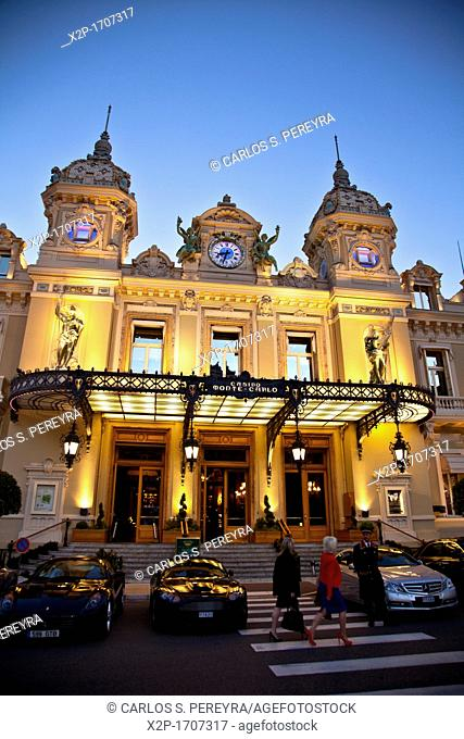 Grand Casino of Monte Carlo, Monaco, Europe
