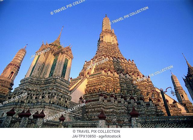 Thailand, Bangkok, Wat Arun, Temple of Dawn