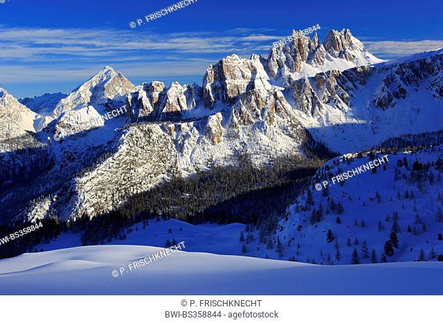 Antelao, Croda da Lago, Italy, South Tyrol, Dolomites