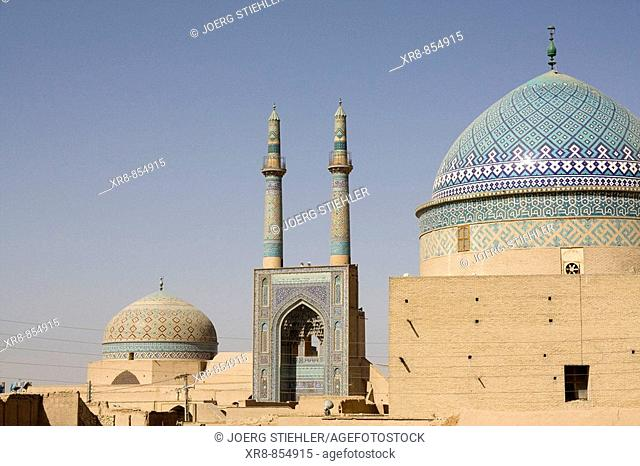 Iran Yazd Friday Mosque Rukn ad-Din Tomb