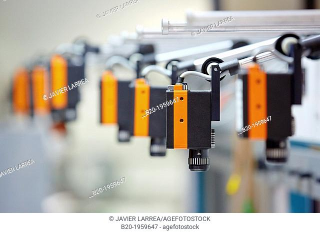 Cameras for Calibration of Electric Meters. Electric Metrology. Technological Services to Industry. Tecnalia Research & Innovation, Zamudio, Bizkaia
