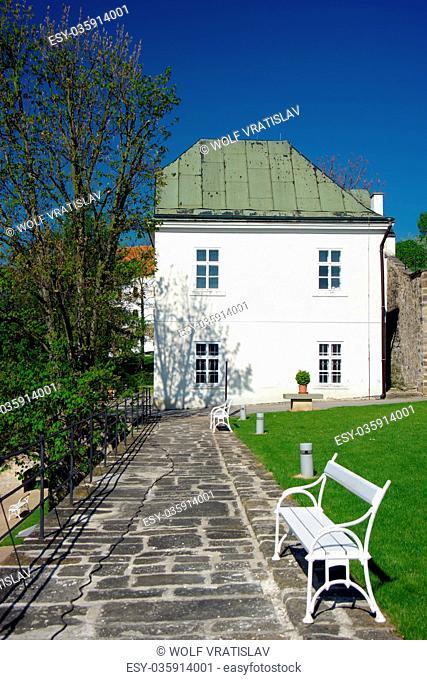 Garden Terrace of Decin Chateau, Usti nad Labem Region, Czech Republic