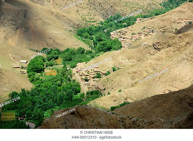 Morocco, Moroccan, Atlas village, North Africa, Africa, African