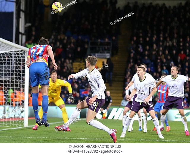 2015 Barclays Premier League Crystal Palace v Everton Jan 31st. 31.01.2015. London, England. Barclays Premier League. Crystal Palace versus Everton
