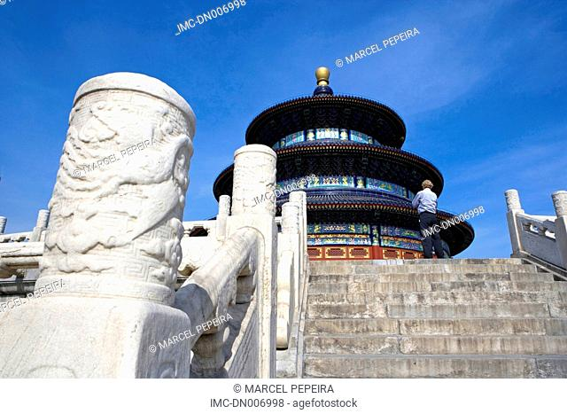 China, Beijing, temple of heaven, hall of prayers for good harvest
