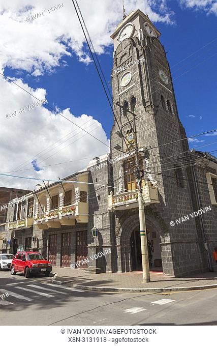 Street in old town, Banos de Agua Santa, Ecuador