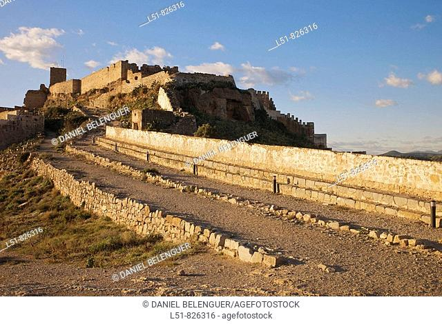 Roman Castle of Sagunto, Valencia, Comunidad Valenciana, Spain, Europe