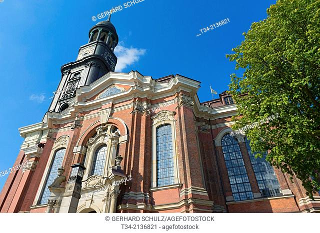 St. Michaelis Church ( Michel ) , Hamburg Germany
