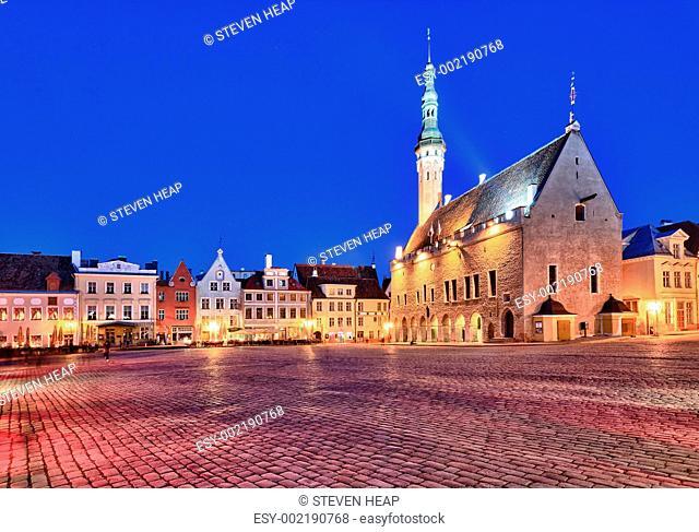 Old Town Hall in Tallinn