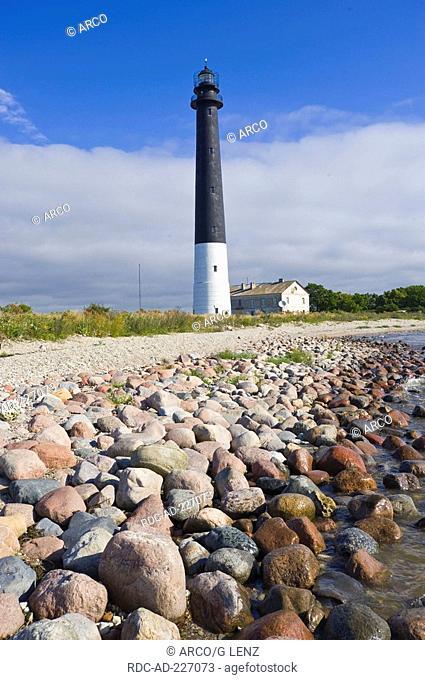 Lighthouse, Saare, Island Saaremaa, Estonia, Sääre