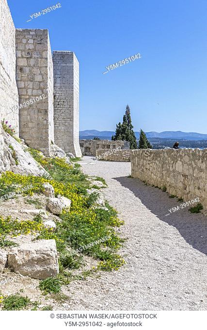 St. Michael Fortress, Šibenik, Šibensko-Kninska, Dalmatia, Croatia, Europe