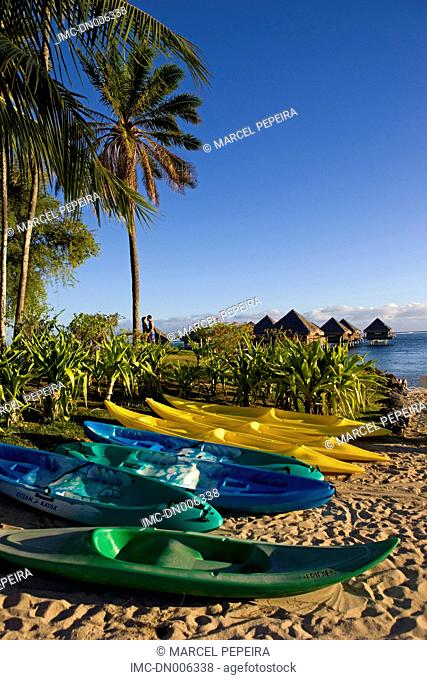 French Polynesia, Tahiti island, beach