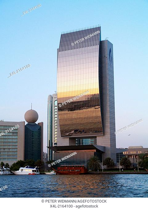 Dubai Creek, national bank, United Arab Emirates, Dubai