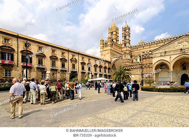 Cathedral Maria Santissima Assunta Palermo Sicily Italy