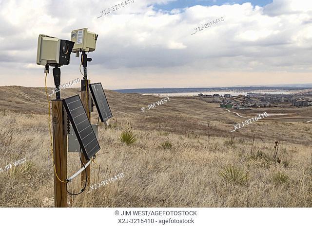 Denver, Colorado - Timelapse cameras in Rocky Flats National Wildlife Refuge, part of the Platte Basin Timelapse project