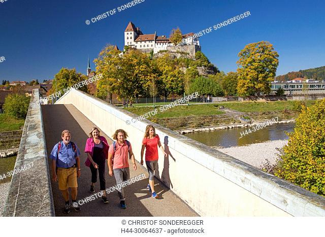 Wanderer in Burgdorf