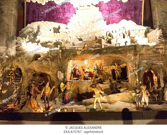 Austria, Salzburg, nativity set