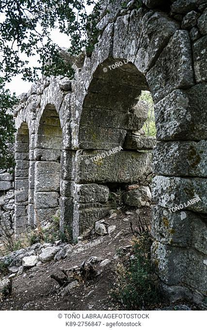 Termessos. The unexcavated Pisidian city. Ancient Greece. Asia Minor. Turkey