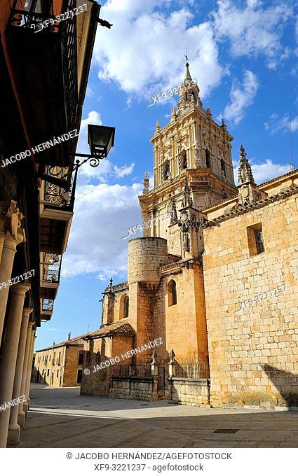 Cathedral of Burgo de Osma. Soria province. Castilla y León. Spain