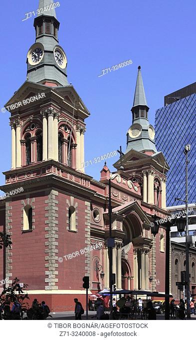 Chile, Santiago, Basilica de la Merced,